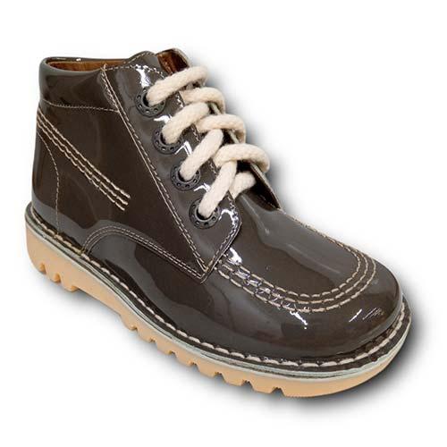 Botas TinnyShoes 2493 CHAROL GRIS