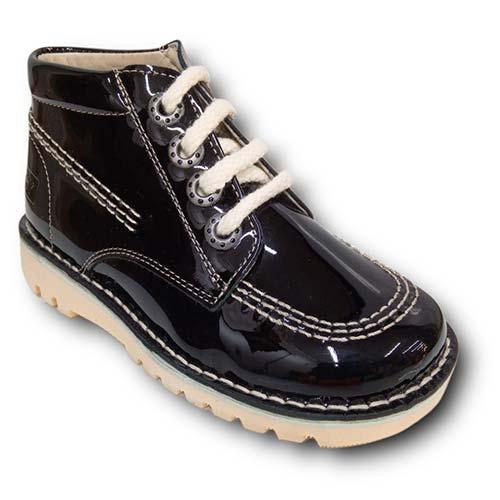 Botas TinnyShoes 2493 CHAROL NEGRO
