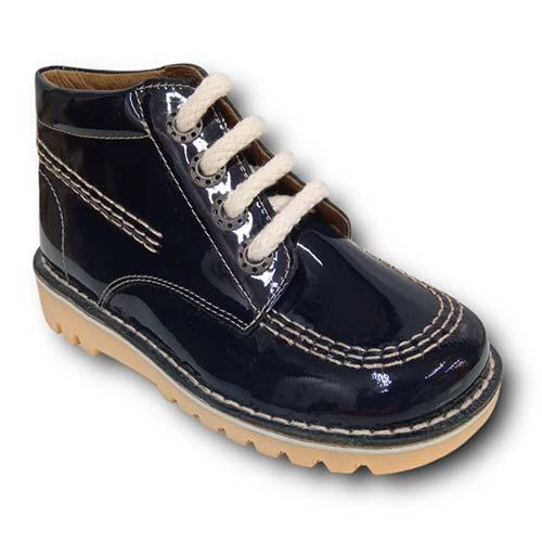 Botas TinnyShoes 2493 CHAROL MARINO