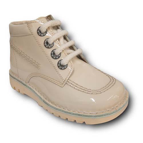 Botas TinnyShoes 2493 CHAROL BEIGE